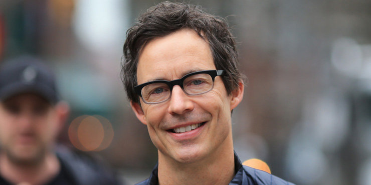 'The Flash' villain Tom Cavanagh at Comic Con, the actor has been married to wife Maureen Grise since 2004