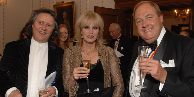 """Joanna Lumley confirms movie version of """"Absolutely Fabulous"""" will start filming in October, Lumley has been married to husband Stephen Barlow since 1986"""
