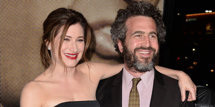 """""""Happyish"""" actress Kathryn Hahn starring in a new movie """"She's Funny That Way"""" about a married director and his wife in a Love Hexagon"""
