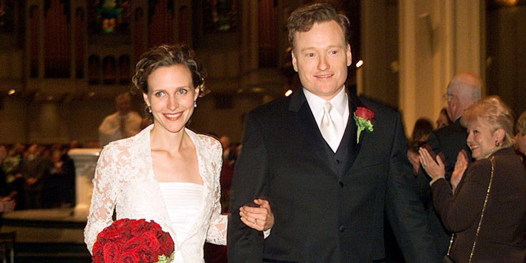 Conan O'Brien fell in love with wife Liza Powel at first sight, Liza and talk show host husband have been married for over 12 years!!