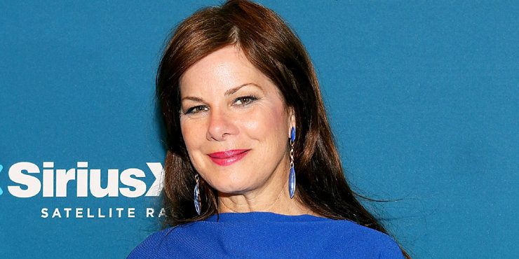 Movie Actress Marcia Gay Harden hosts dinner for one lucky guest at Ellis Island, talks about family history