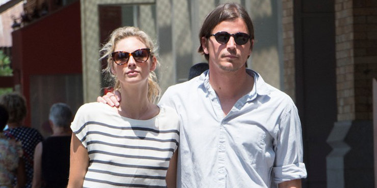 Pregnant Tamsin Egerton and Movie star boyfriend Josh Hartnett made their first public appearance at Wimbledon