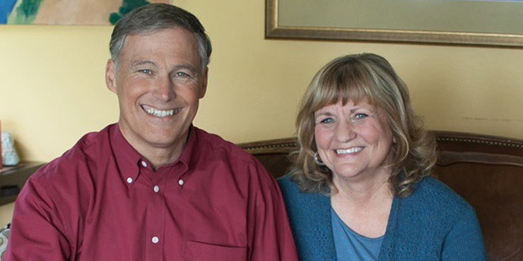 Washington Governor Jay Inslee married his high school sweetheart, Trudi Inslee, Inslee couple have three sons together