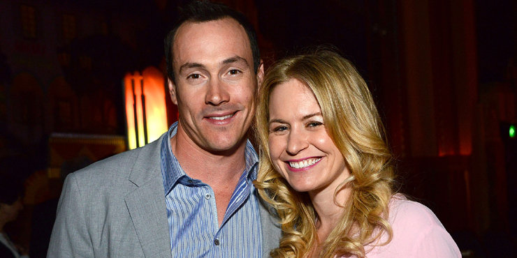 """""""American Pie"""" actor Chris Klein married to fiance Laina Rose Thyfault, who he's been dating for 4 years"""