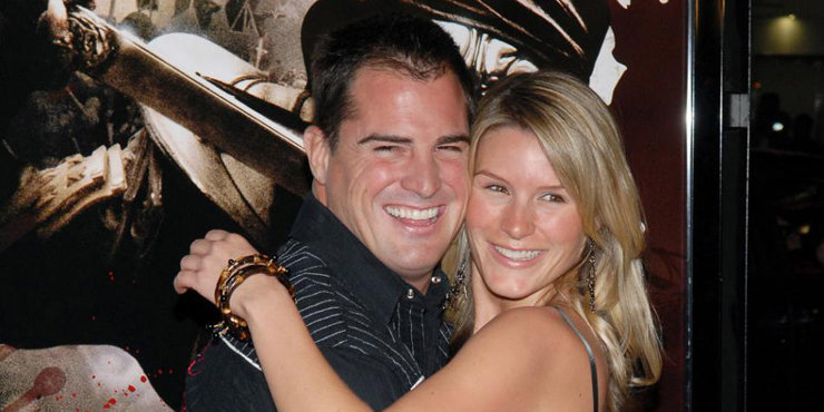 """Actor George Eads and wife Monika, married since 2011, get their house renovated in """"Flipped out"""""""