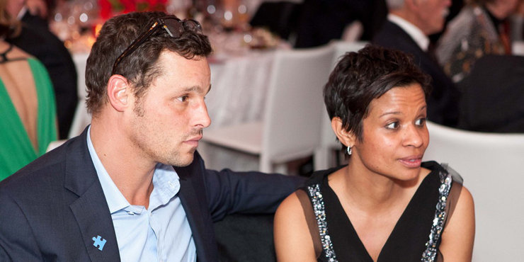 Actor Justin Chambers, who already has 5 kids with wife Keisha, might be expanding his family!! Rumors of baby no 6
