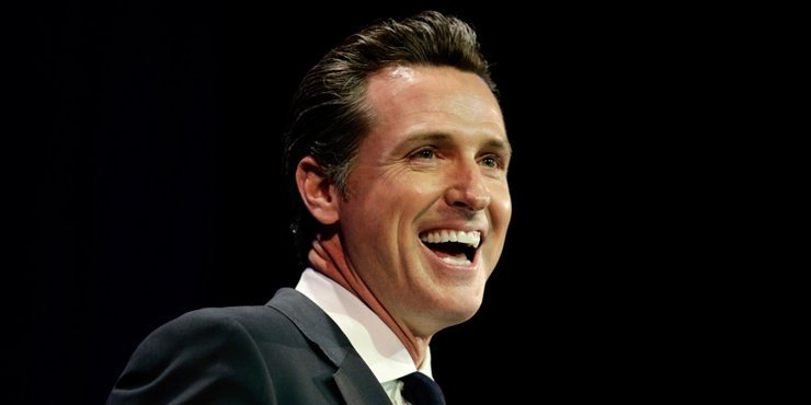 How did Governer Gavin Newsom survive a career killing affair and scandal with his aide's wife??