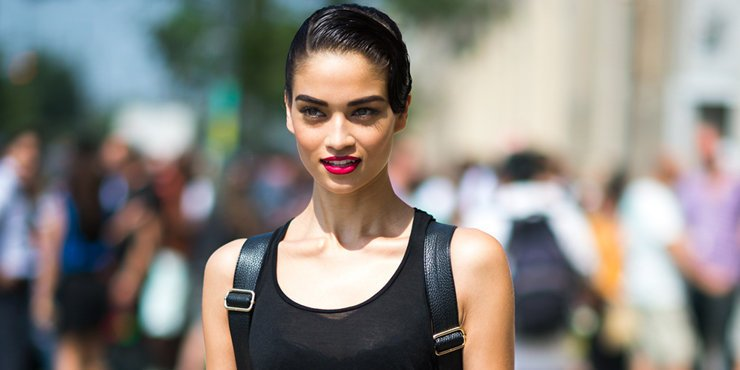 Model Shanina Shaik is the new face of Tony Bianco shoes, Twitter and Instagram flooded with model wearing Bianco shoes