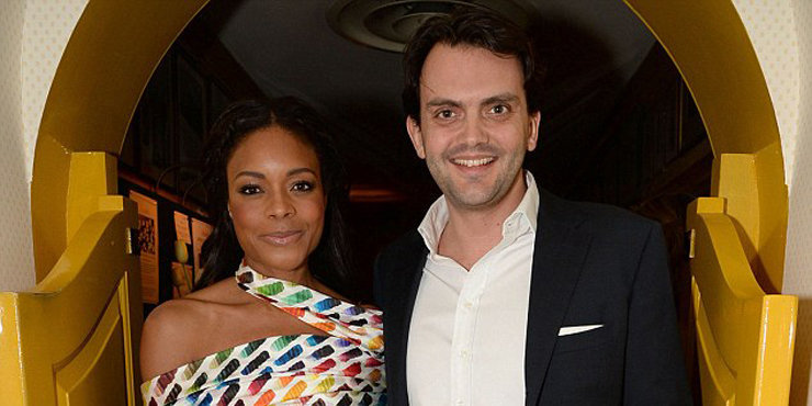 Actress Naomie Harris and boyfriend Peter Legler, dating since 2012, caught showing PDA, rumors they might get married