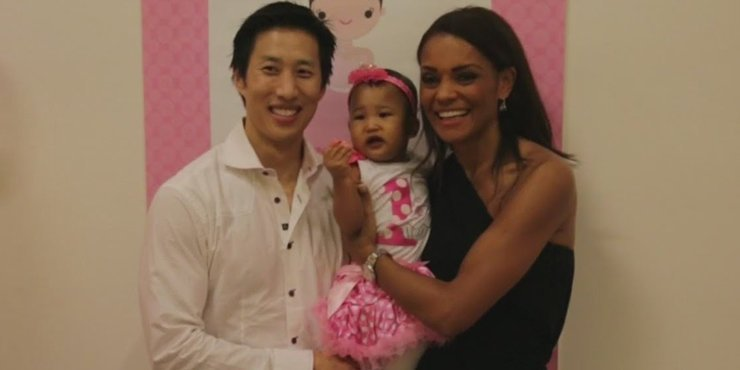 How do journalist Ilia Calderon and husband, Eugene Jang, handle inter-racial issues in their married life??