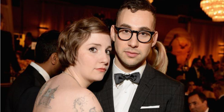 Jack Antonoff opens up about dating his girlfriend, Girl's star Lena Dunham
