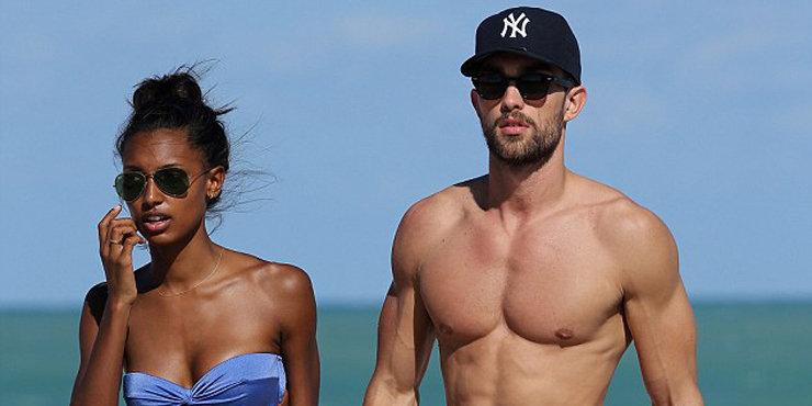 Model Jasmine Tookes talks about working with boyfriend Tobias Sorensen in Calvin Klien campaign?