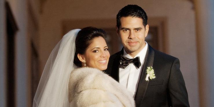 Pamela Silva Conde and husband Cesar Conde renewing their wedding vows??