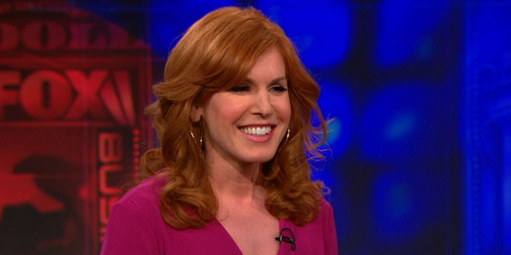 TV Host Liz Claman, age 51, expecting a raise in her salary??