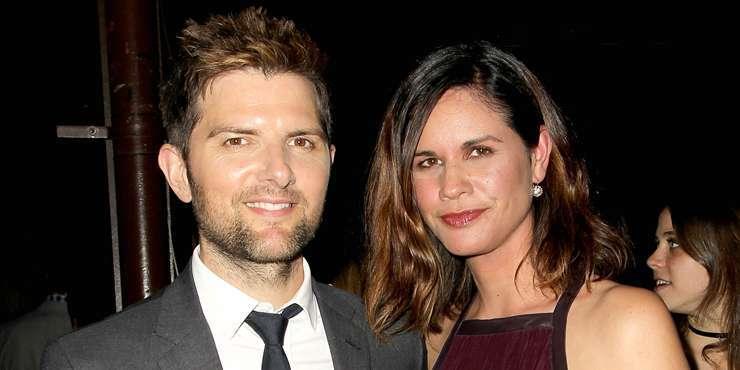 Actor Adam Scott and wife Naomi getting a divorce??
