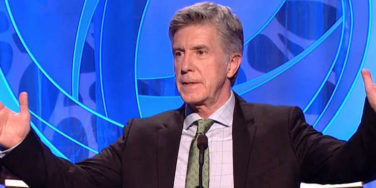 """Tom Bergeron pays tribute to late father on his show and on Twitter, call him """"best man"""" at his wedding and in life"""