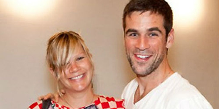 Actor Eddie Cahill and wife Nikki Uberti plan on having lots of children
