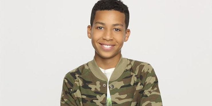 Actor Marcus Scribner, age 15, thankful that his parents encourage him and keep him grounded