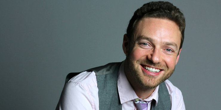 Actor Ross Marquand talks about playing a gay character on Walking dead and his thoughts on dating and marriage