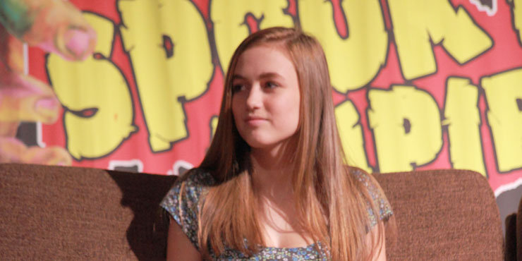 Actress Madison Lintz, age 16, talks about what she looks for in a boyfriend while dating