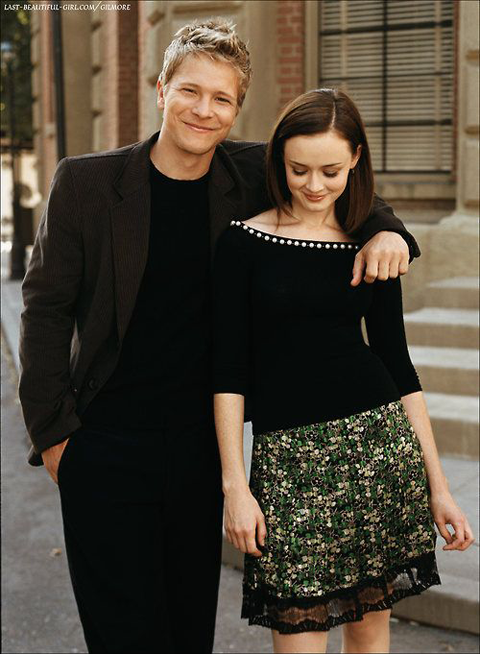 Matt Czuchry and Alexis Bledel