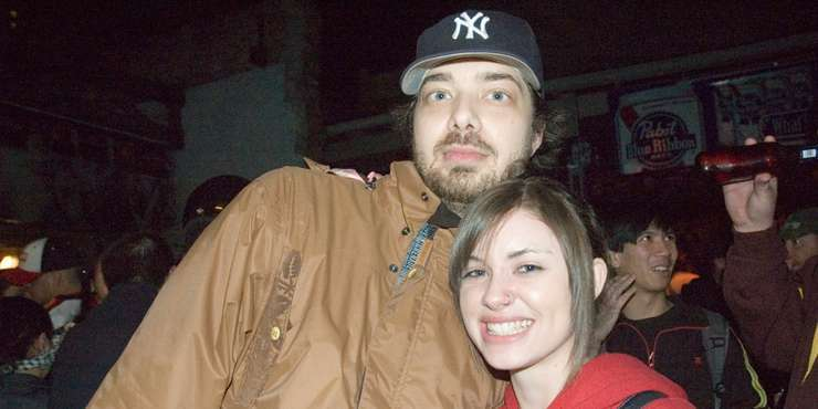 Recording artist Aesop Rock dating his ex-wife Allyson Baker once again??