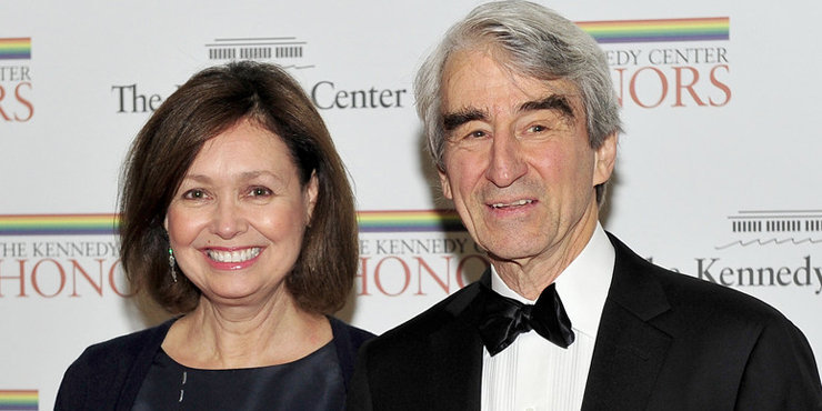 Actor Sam Waterston, age 75, says his wife Lynn Louisa Woodruff has been his greatest supporter throughout their 40 years of married life