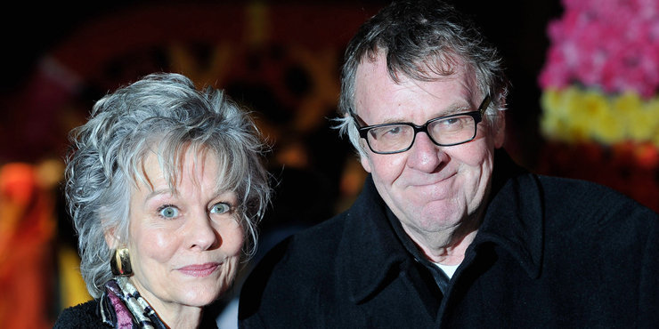 Actor Tom Wilkinson, age 67, and wife  Diana Hardcastle, married since 1998, renewing their vows?