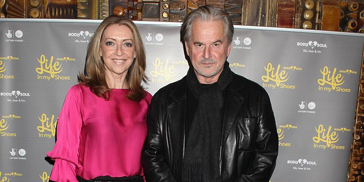 Actor Trevor Eve's wife Sharon Maughan talks about his affair that nearly destroyed their married life