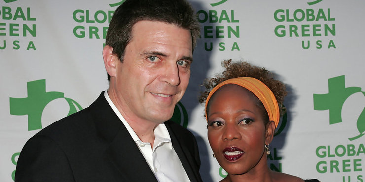 Actress Alfre Woodard and husband  Roderick Spencer, married since 1983, talk of their difficult past