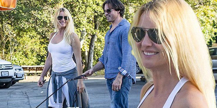 Actress Nicollette Sheridan, age 53, might be betting married to her young boyfriend Aaron Phypers