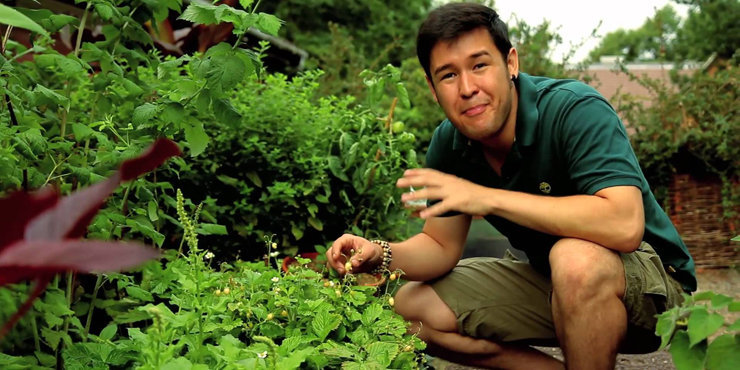 Ethnobotanist James Wong talks about his book Homegrown Revolution and shares his tips for gardeners everywhere