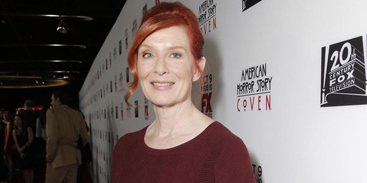 What is the deal with American Horror Story star Frances Conroy's eyes?