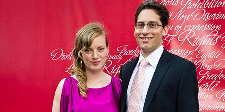 Actress Sarah Polley, age 37, and husband David Sandomierski expecting another baby??