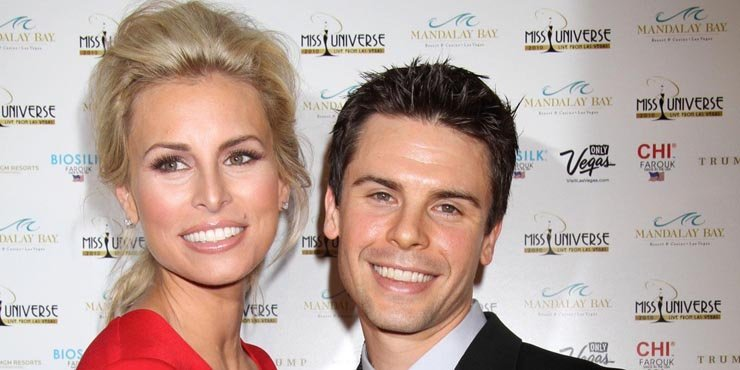 Model Niki Taylor, age 40, and second husband Burney Lamar getting a divorce??
