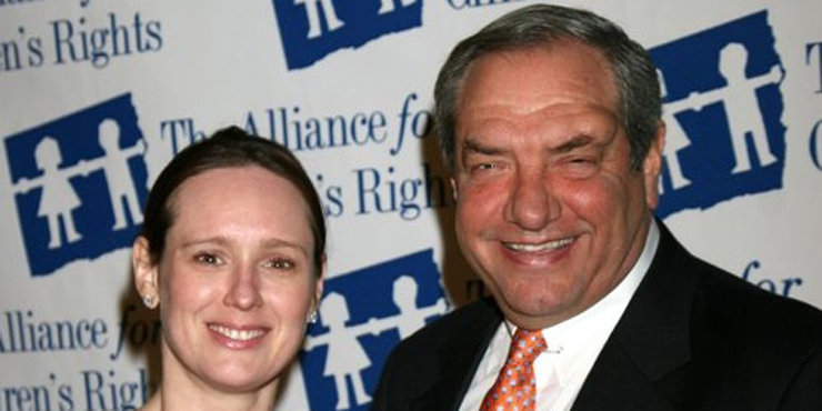 Television Producer Dick Wolf, who is already married to his third wife, facing problems in his divorce settlement with second wife Christine Wolf