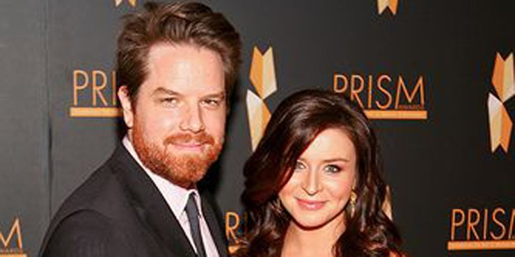 Do Caterina Scorsone and her husband, Rob Giles have any children together?