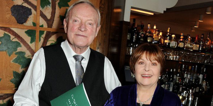 Julian Glover and his wife are still very much in love.The two talk about their married life.