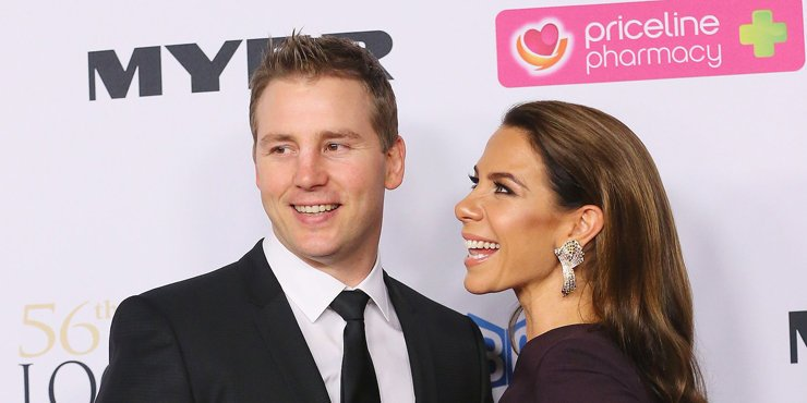 Kate Ritchie is a happy and proud mother.