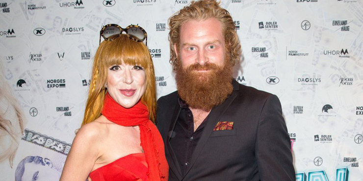 Kristofer Hivju and his wife, Gry expecting a baby? The couple has been married for almost a year.