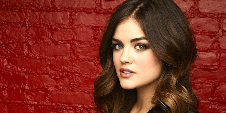 Lucy Hale finds a woman who looks like the perfect mix between herself and Kylie Jenner.