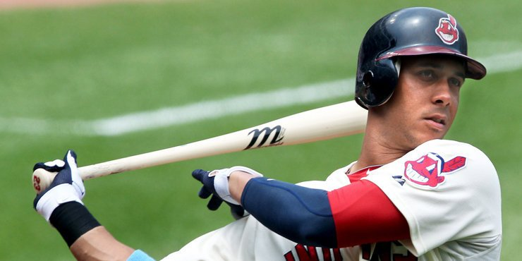 Michael Brantley comes back to Cleveland Indians. But rides bench.