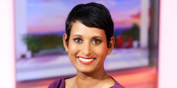Naga Munchetty and her husband, James looking to start a family? Rumors of her pregnancy.