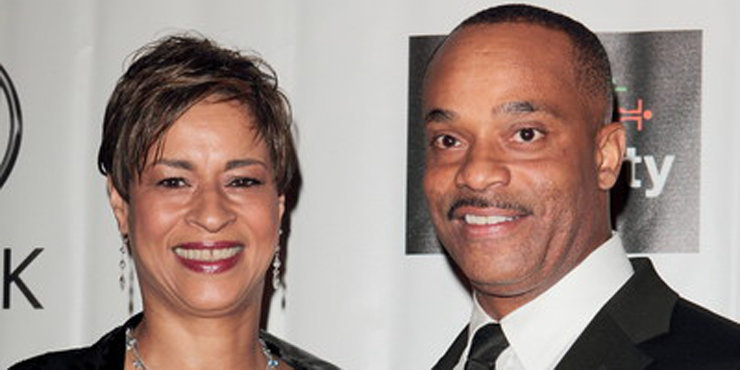 Rocky Carroll and his wife, Gabrielle love their daughter.