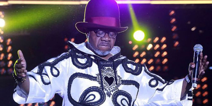 Fans mourn Papa Wemba in Kinshasa.