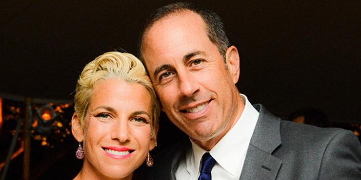 Jessica Seinfeld on her husband, Jerry Seinfeld.