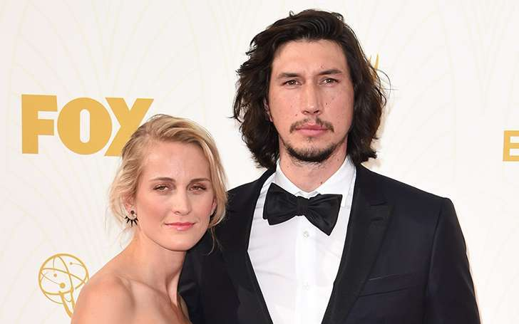 'Girls' star Adam Driver married Joanne Tucker, Find out his love story and relationship
