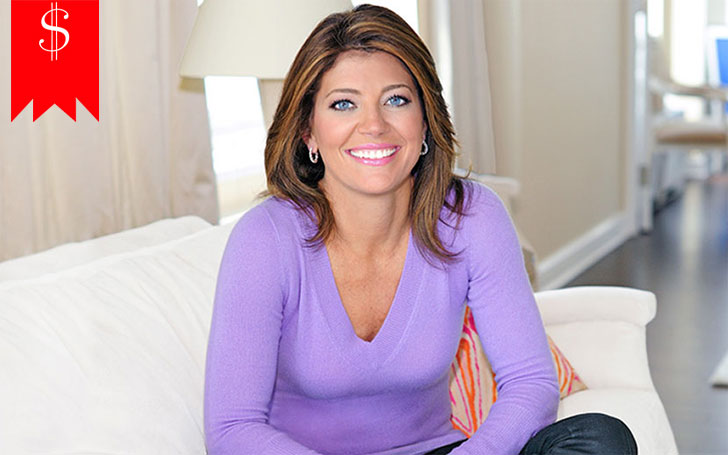 What's Norah O'Donnell's Annual Salary? Her Net Worth is around $8 Million in 2017.