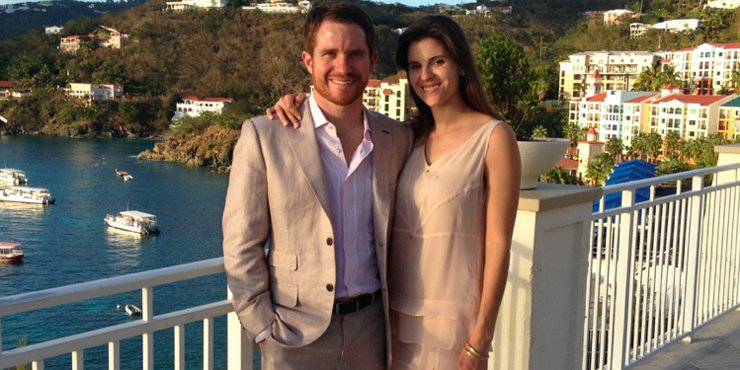 Race Car Driver Brian Vickers, and wife Sarah expecting a baby??