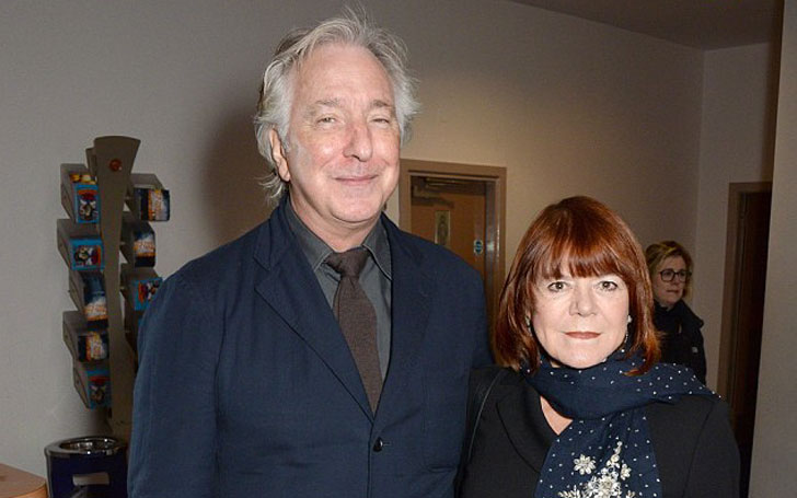 Rima Horton's Marital Relationship with Alan Rickman; What happened to her after Rickman's Death?